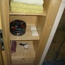Meuble encastré pour la salle de bain