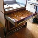 La cuillère en bois dans son tiroir