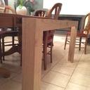 Vérification de la hauteur de la table