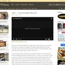 Banc convertible