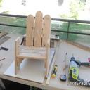 Première chaise enfant en palette
