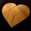 Tangram -Coeur Brisé-