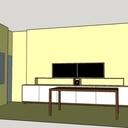 Meuble pour salle de visio conférence