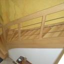 Escalier bois sur escalier béton
