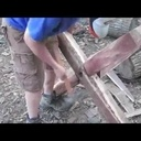 Construction d'un établi rudimentaire