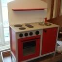 La mini-cuisinière terminée