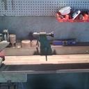Tour à bois Kity 660 Modifié (Moteur d'entrainement de machine à laver)