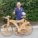Un vélo 100% bois
