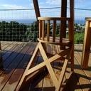 chaise en bois extérieur