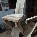 Petite chaise - récup