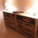 Commode de chambre en bois de palette