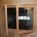 Une fenêtre pour le bureau de l'atelier