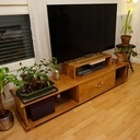 Un petit meuble TV et Médias