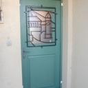Porte d'entrée personnalisée
