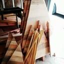 Sapins de Hiver en bois de recuperation