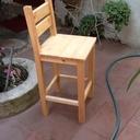 Petite chaise haute pour enfant