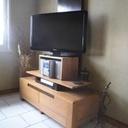 Meuble tv chêne massif
