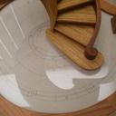 Escalier conique renversé