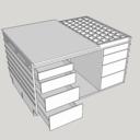 Table d'assemblage avec boite de torsion