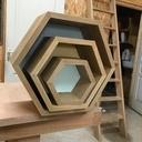 Étagères géométrique