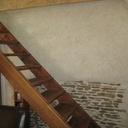 Modeste escalier de mezzanine