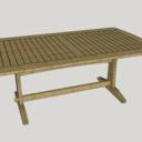 Table exterieure pour terasse