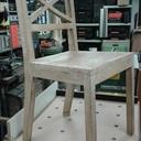 Restauration d'une chaise.