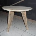 Table d'appoint 3 pieds