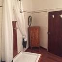 Socle bois pour bac à douche... et sa colonne