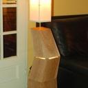 Lampe-sculpture de salon