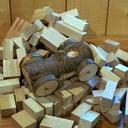 Le bolide en bois d'arbre