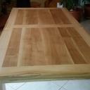 Table en frêne et chêne
