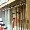 Rangement serre-joints