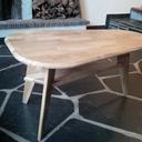 Table basse en chêne massif à 10€ ! :P