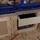 Un meuble d'atelier