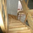 Escalier en rénovation