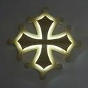 Applique croix occitane