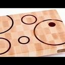 Un nouveau niveau dans la planche à découper en bois de bout