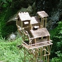 Rêve de cabane bambou