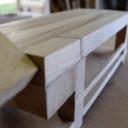 Mini établi de maqueterie en bois massif