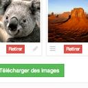 Téléchargement multiple d'images