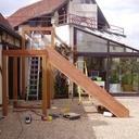 Escalier exterieur