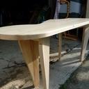 Table basse qui sonne