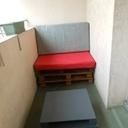 Salon de balcon  table basse