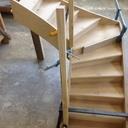 Maquette escalier quart tournant