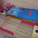 Tirioirs sous lits d'enfant