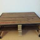 Table basse en palettes