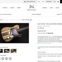 Guitare en bois de récup