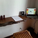 Tablette bureau en Tamarin