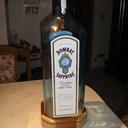 Pied illuminer pour bouteille